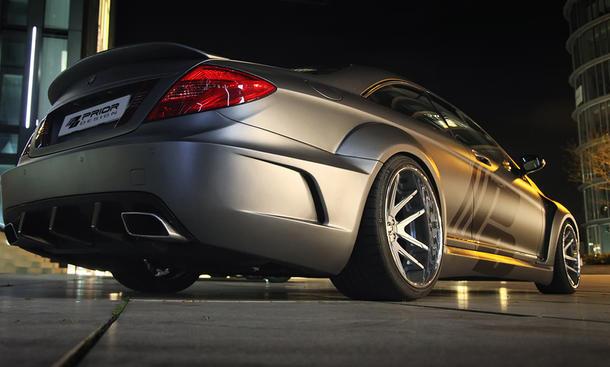 Mercedes CL 500 von Prior Design mit neuen Bildern