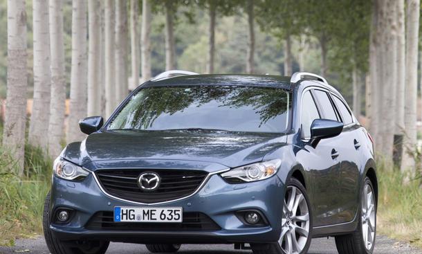 Fahrbericht Mazda 6 Kombi 2 2 Skyactiv D 2012 Bild 2