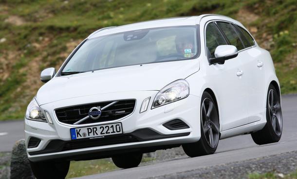 Volvo V60 2012 Mittelklasse im Test