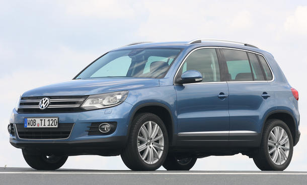 VW Tiguan 2.0 TDI SUV-Vergleich 2012