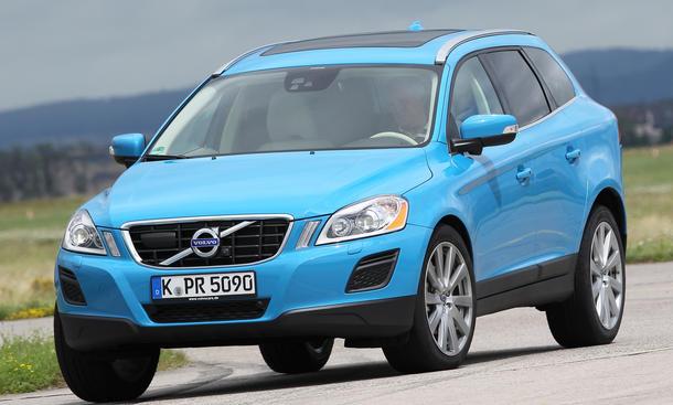 Volvo XC60 D4 SUV-Vergleich 2012 Geländewagen