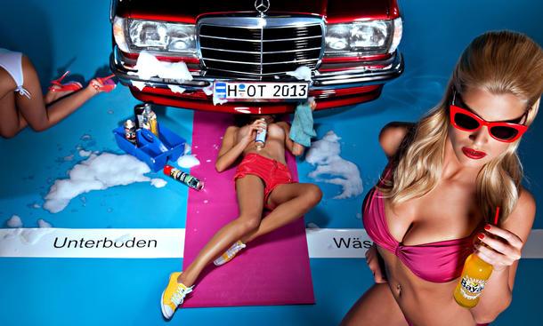 Hot Carwash Kalender 2013 Erotik Tuning