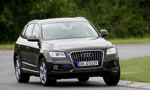 Audi Q5 2.0 TDI SUV Rabatte Vergleich 2012 Top Ten
