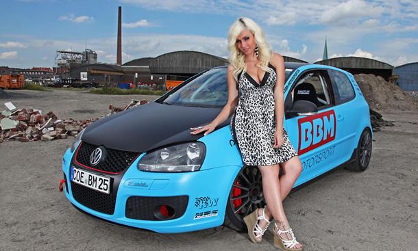 VW Golf V GTI, BBM Tuning, Rennlizenz, Andrea Friedrich