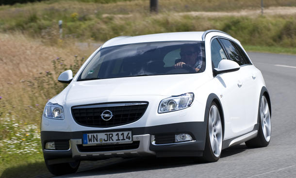 Tuning Fahrbericht Irmscher Opel Insignia Cross4 1.6 Turbo Fahraufnahme Front