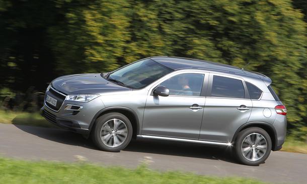 Peugeot 4008 HDi 115 FAP 2012 Einzeltest