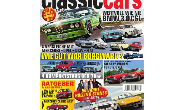 AUTO ZEITUNG Classic Cars 06/2012