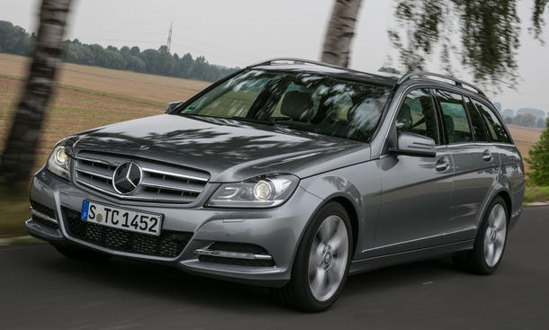 Bilder Mercedes C 220 T Modell BlueEFFICIENCY 2012