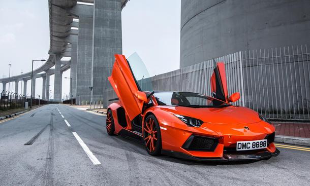 Lamborghini Aventador, Tuning, DMC, Carbon