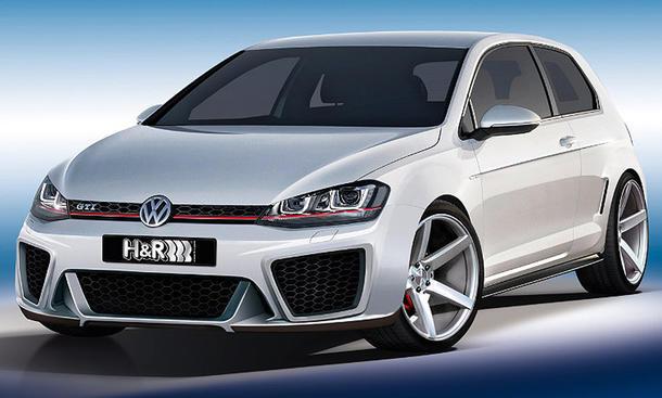 H&R VW Golf VII 2012 Tuning Essen Motor Show 2012