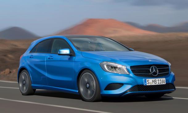 Mercedes A-Klasse 2012 Daimler Zusatzschichten Kompaktklasse Nachfrage