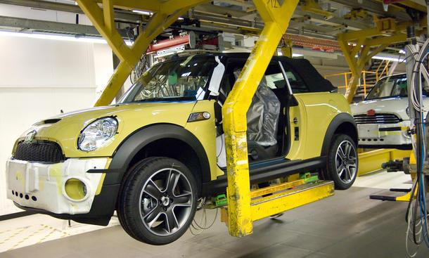 Mini Nedcar Born Produktion 2014 BMW Mitsubishi Werk Fabrik