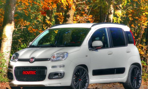 Novitec Fiat Panda 2012 Tuning Felgen Aerodynamik Leistungssteigerung