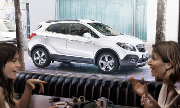 opel mokka 2012 preis ab euro f r einstiegs suv. Black Bedroom Furniture Sets. Home Design Ideas