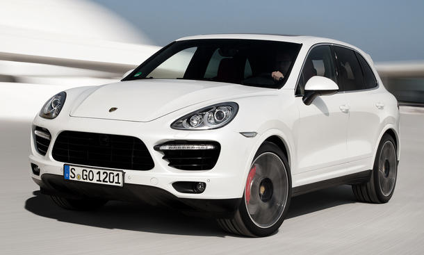 Porsche Cayenne Turbo S 2013 Preis 550 PS Power-SUV