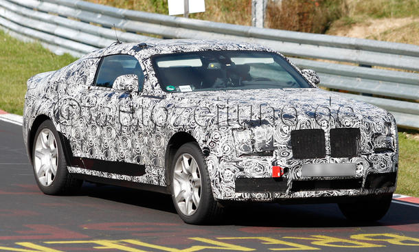 Rolls Royce Ghost Coupé 2013 Erlkönig Nürburgring Auto Salon Genf