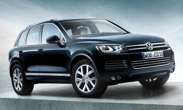 VW Touareg Edition X 2012 Sondermodell zehn 10 Jahre Jubiläum SUV