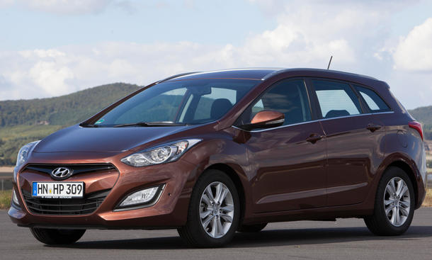 Vergleichstest Hyundai i30 cw 1.6 CRDi Kompaktkombi