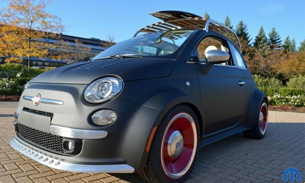 SEMA 2012 Tuning Preview Highlights Vorschau Fiat 500 Beach Cruiser