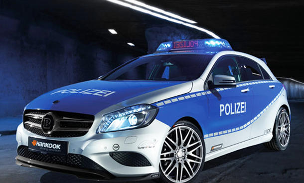 Brabus B25 Mercedes A-Klasse Polizeiauto Essen 2012 Motor Show Tuning