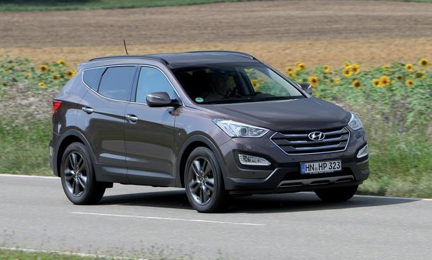 Hyundai Santa Fe 2.2 CRDi 4WD Test SUV Geländewagen dritte Generation