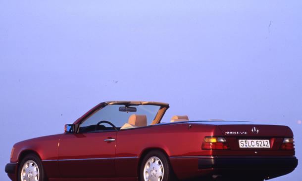 w124 cabrio: