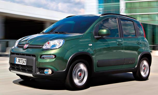 Fahrbericht Fiat Panda 4x4 Twinair 2012 Kleinstwagen Allrad