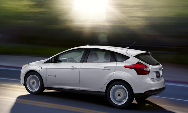Fahrbericht Ford Focus Electric 2013 Elektroauto Kompaktklasse