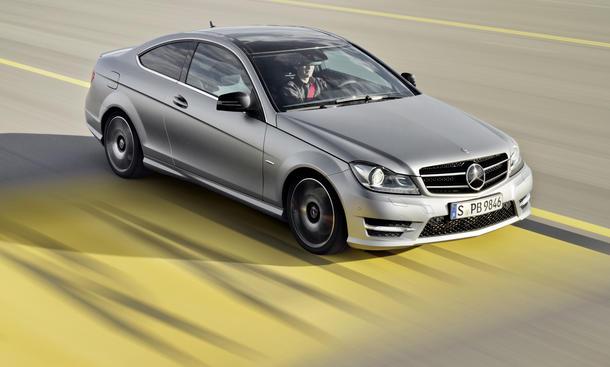 Mercedes C250 Sport Fahrbericht Sportcoupé Mittelklasse Zwischenlösung