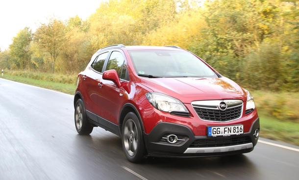Opel Mokka 1.4 Turbo 4x4 Test Kompakt SUV Allrad