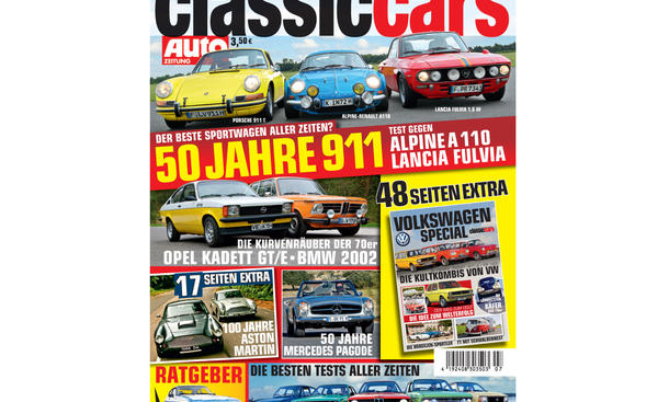 AUTO ZEITUNG Classic Cars 07/2012