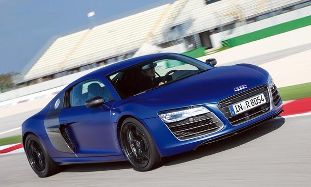 Fahrbericht: Audi R8 5.2 FSI 2012 und V10 plus mit Facelift