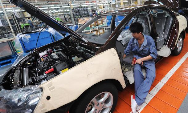 Automarkt China Studie Prognose Zukunft Asien Indien Produktion