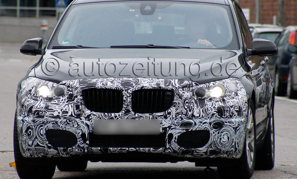 BMW 5er GT 2013 Facelift Erlkönig F07 LCI Gran Turismo