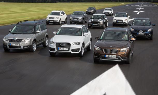 Bilder Kompakt-SUV-Vergleich 2012 10 Kompakte im Test
