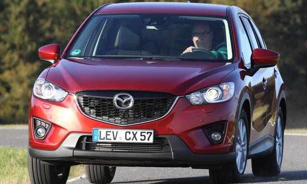 Bilder Mazda CX 5 2.2 Skyactiv-D FWD Vergleich 2012
