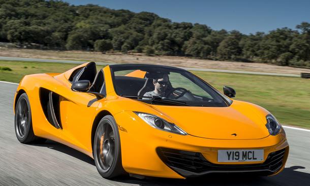 Bilder McLaren MP4-12C Spider 2012