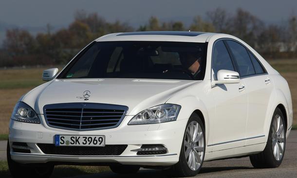 Bilder Mercedes S 350 BlueTEC Luxus Vergleich 2012