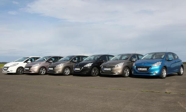 Bilder Peugeot 208 Kaufberatung 2012