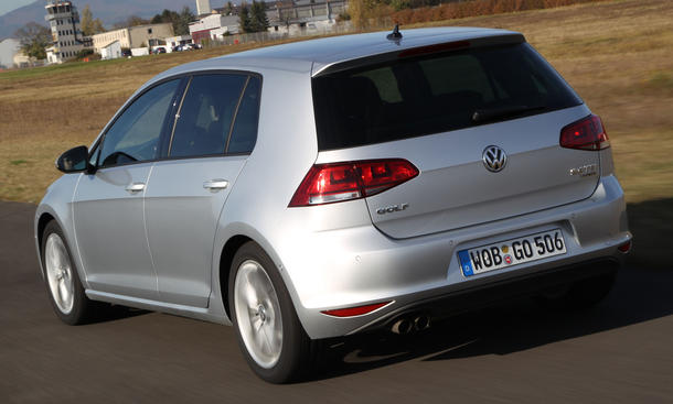 neuer vw golf 7 tdi im test 13 kompaktklasse modelle im. Black Bedroom Furniture Sets. Home Design Ideas