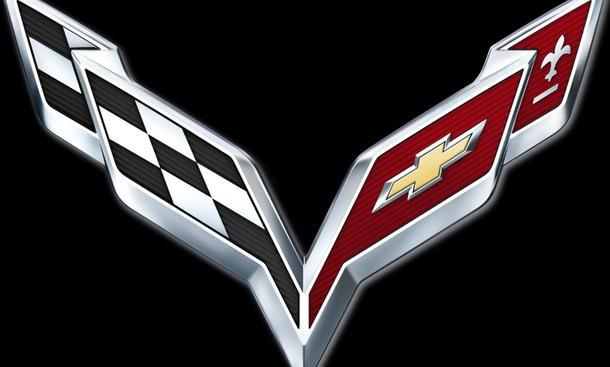 Chevrolet Corvette C7 2013 Logo Leistungsdaten V8