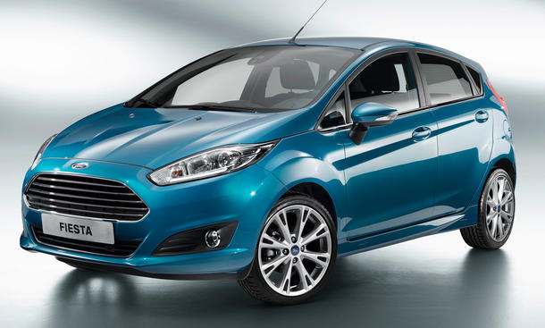 Ford Fiesta Facelift 2013 Preis Kleinwagen