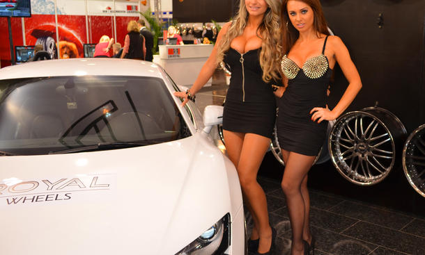 Girls Essen Motor Show 2012 Hostessen Tuning