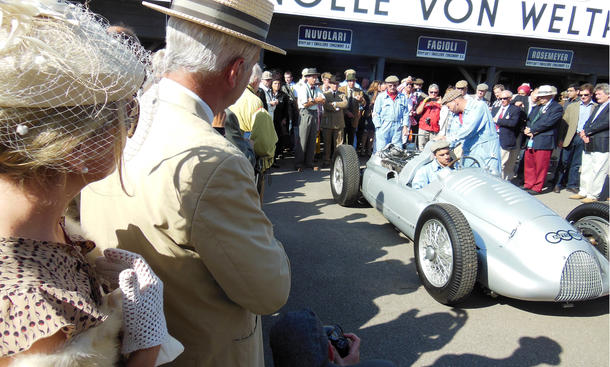 Goodwood Revival Meeting 2012 Festival Silberpfeil Auto Union Mercedes