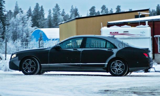 Mercedes S Klasse Langversion 2013 Erlkönig LWB