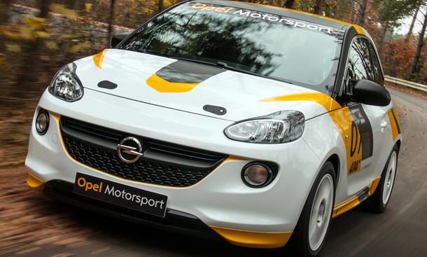 Opel Adam Cup Rallye 2013 Motorsport Comeback