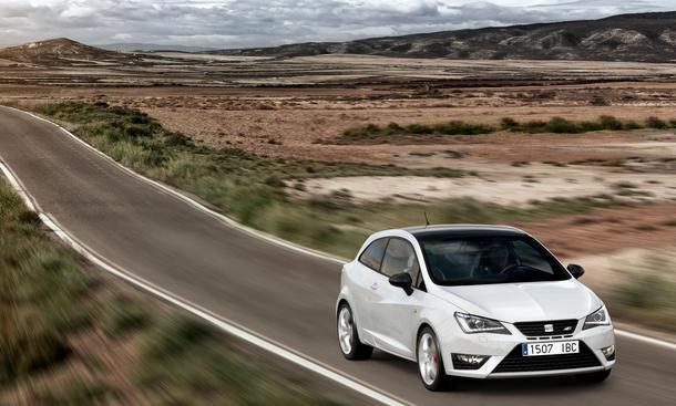 Seat Ibiza Cupra 2013 180 PS DSG Vorstellung Kleinwagen