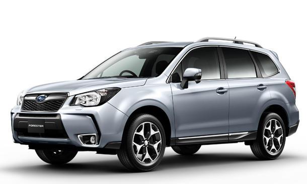 Subaru Forester 2013 vierte Generation SUV Geländewagen Bild technische Daten Neuheit 4x4