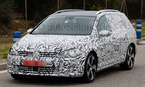 VW Golf VII Variant 2013 Erlkönig Kombi Kompaktklasse Motoren Preis