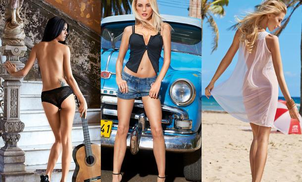 Girls Erotik febi bilstein Kalender 2013 Kuba Werkstattkalender